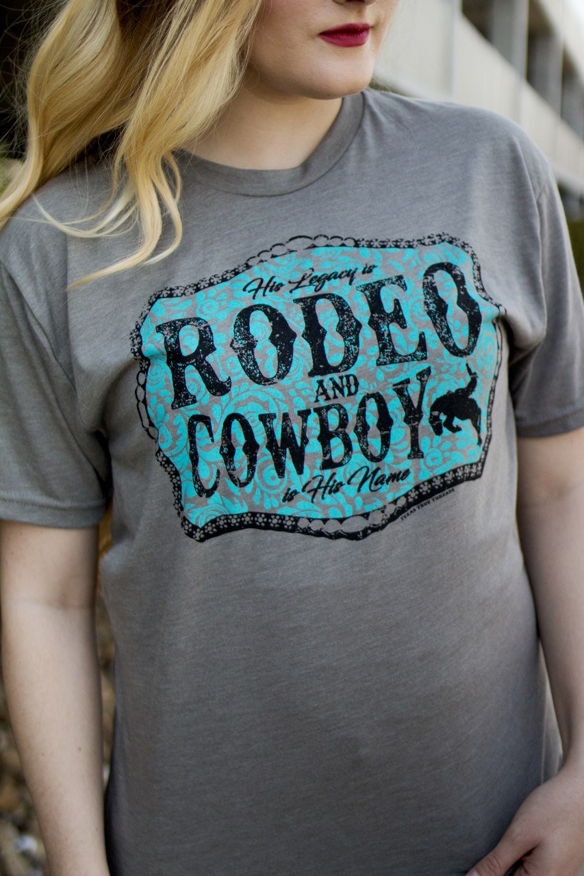 Rodeo & Cowboy Tee