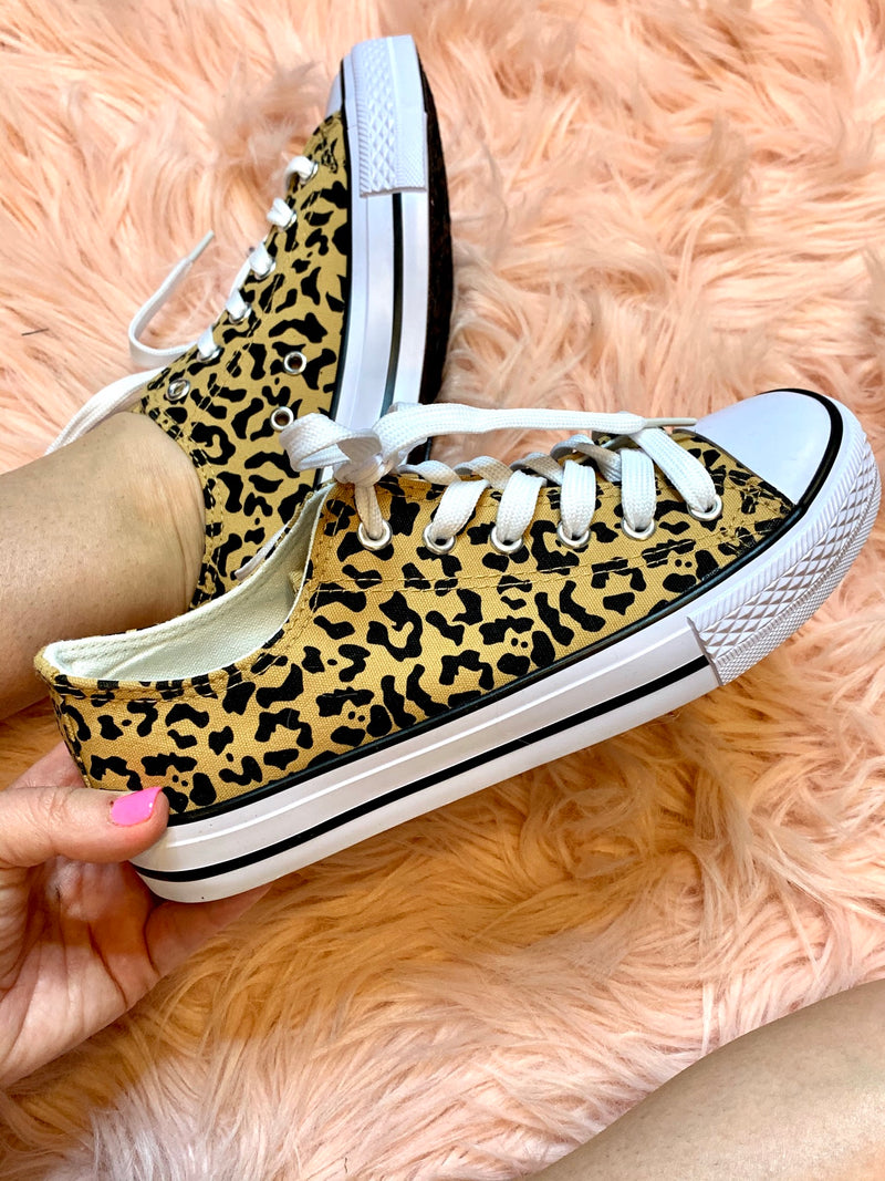Lovely in Leopard Sneakers