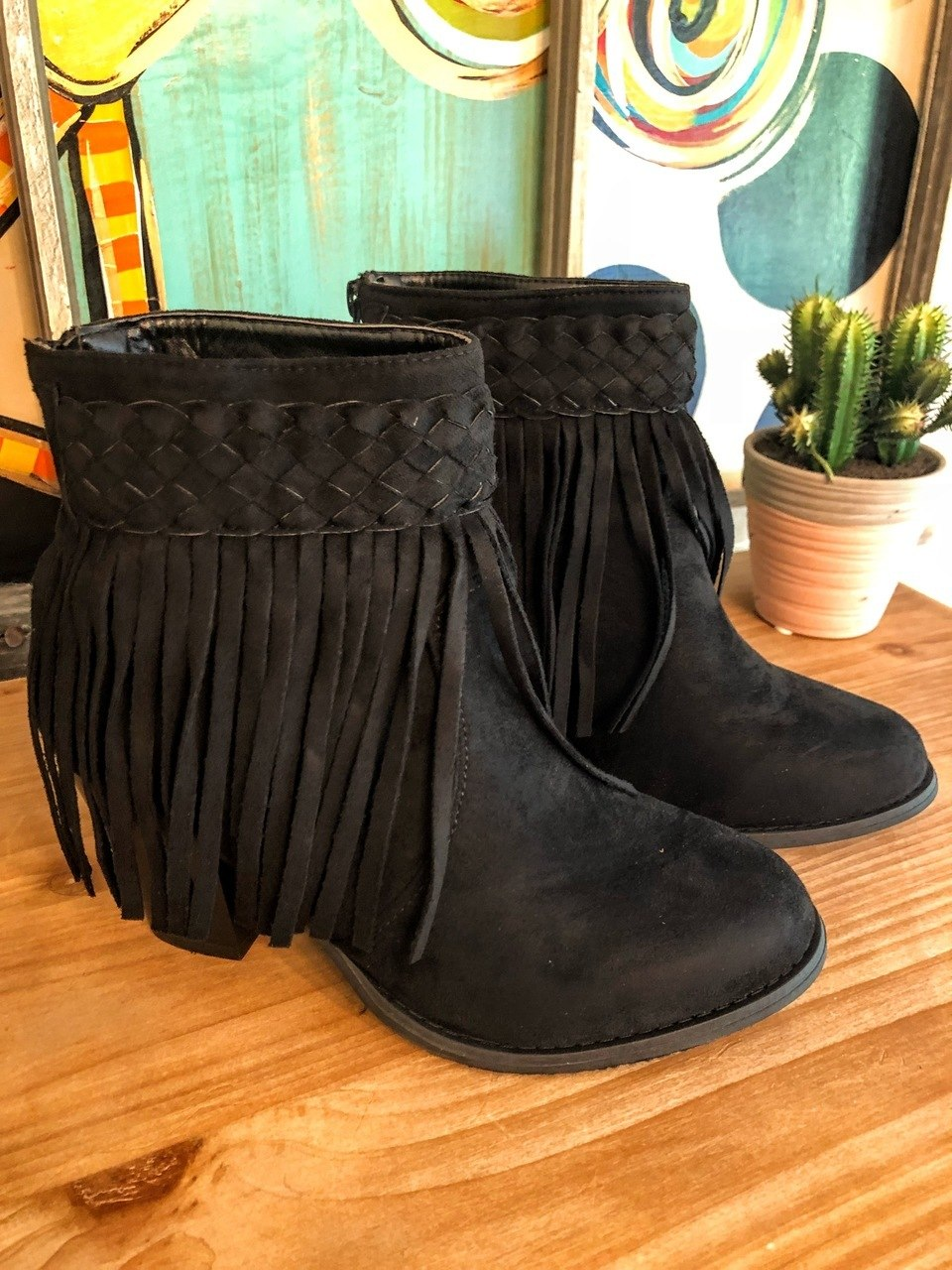 Black Booties - The Pink Buffalo,LLC