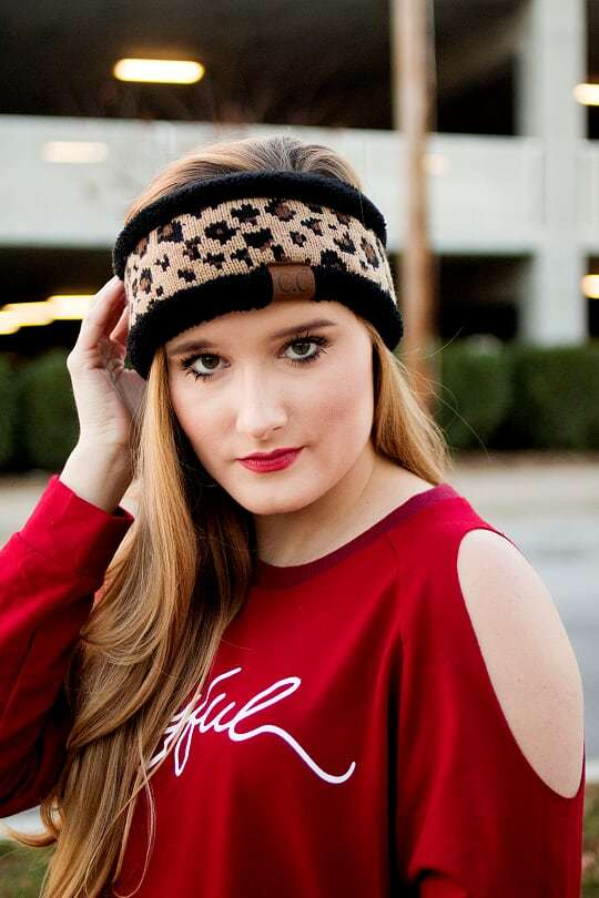 CC Headband-Leopard - The Pink Buffalo,LLC