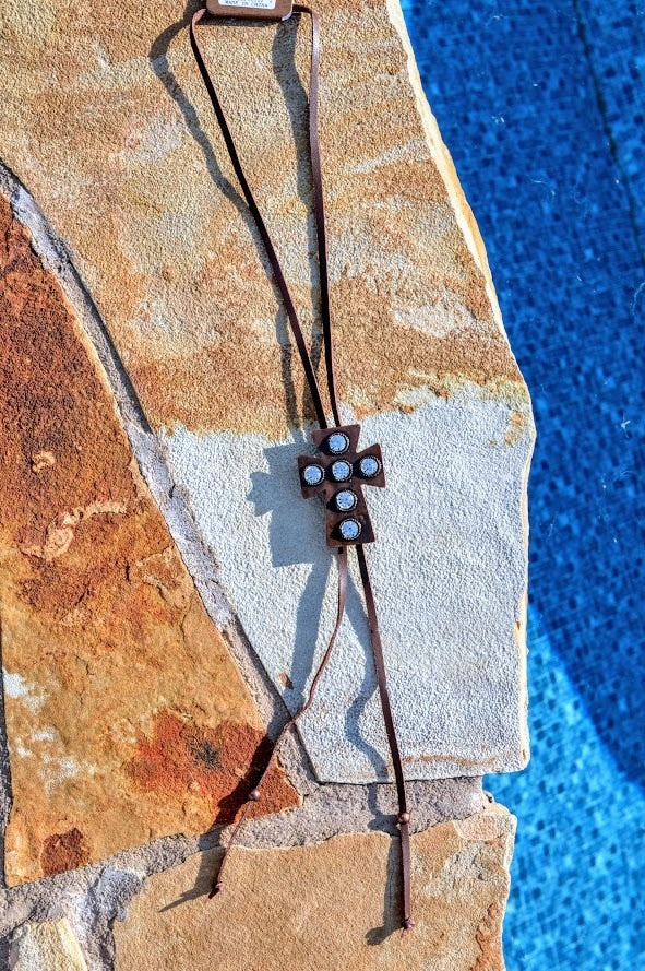 Cross BOLO Necklace - The Pink Buffalo,LLC