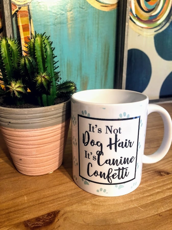 Dog Confetti Mug - The Pink Buffalo,LLC
