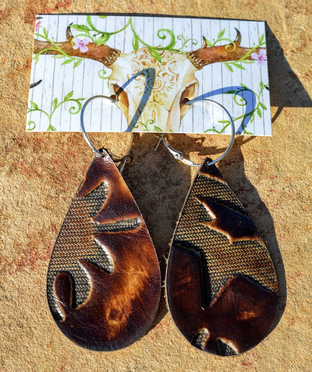 The Original Gypsy Leather Earrings