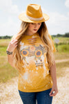Sunflower Buffalo Bleached Tee