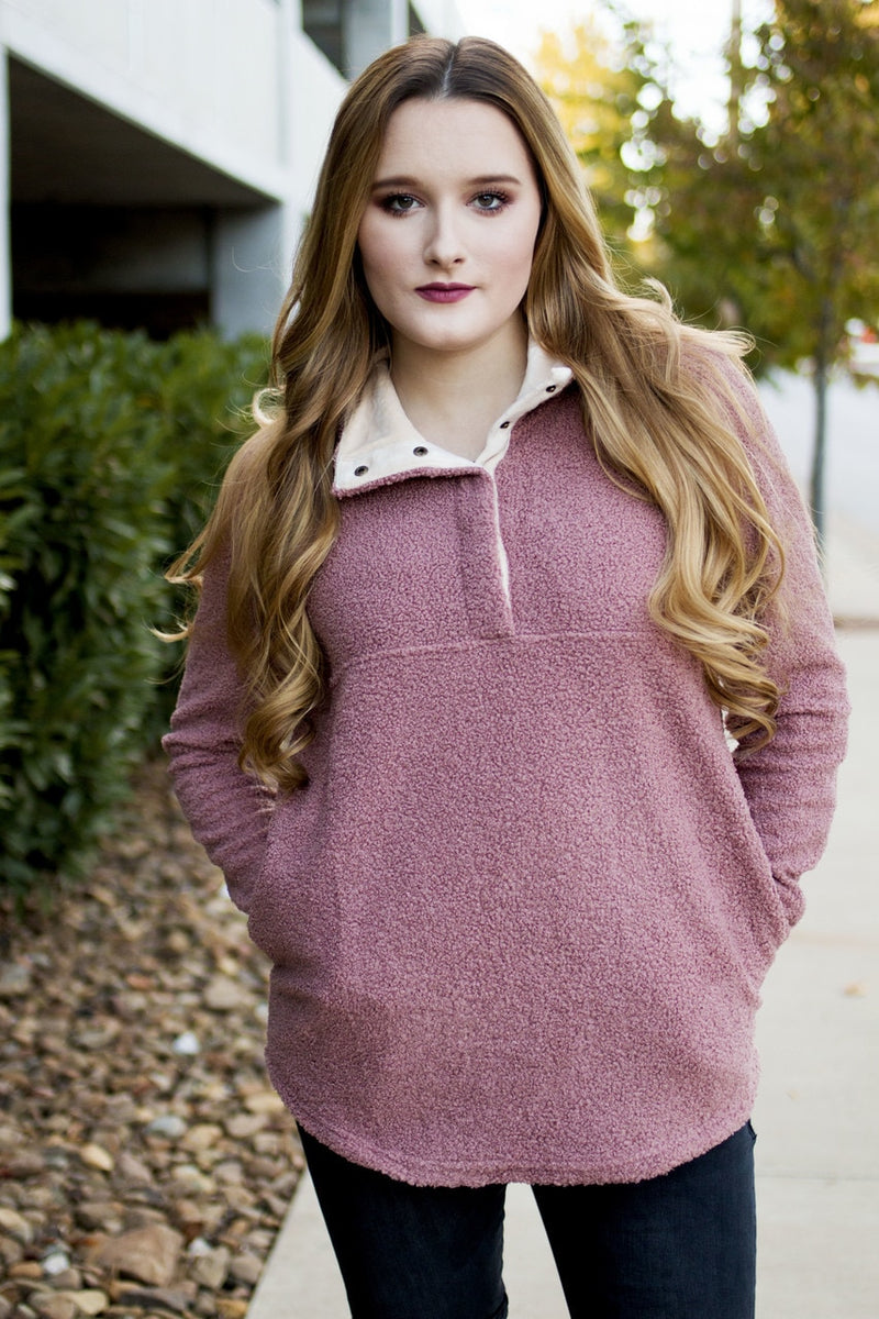 Blush Pullover - The Pink Buffalo,LLC