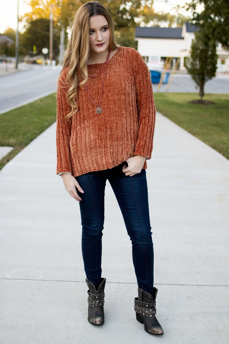Terracotta Sweater