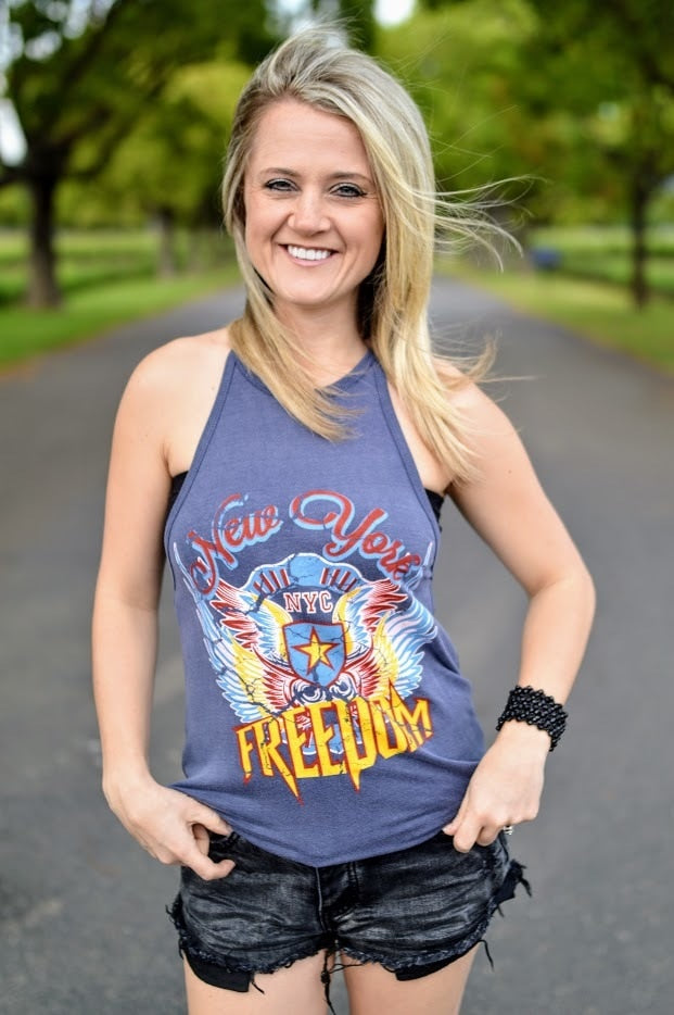 Freedom Eagle Halter Top