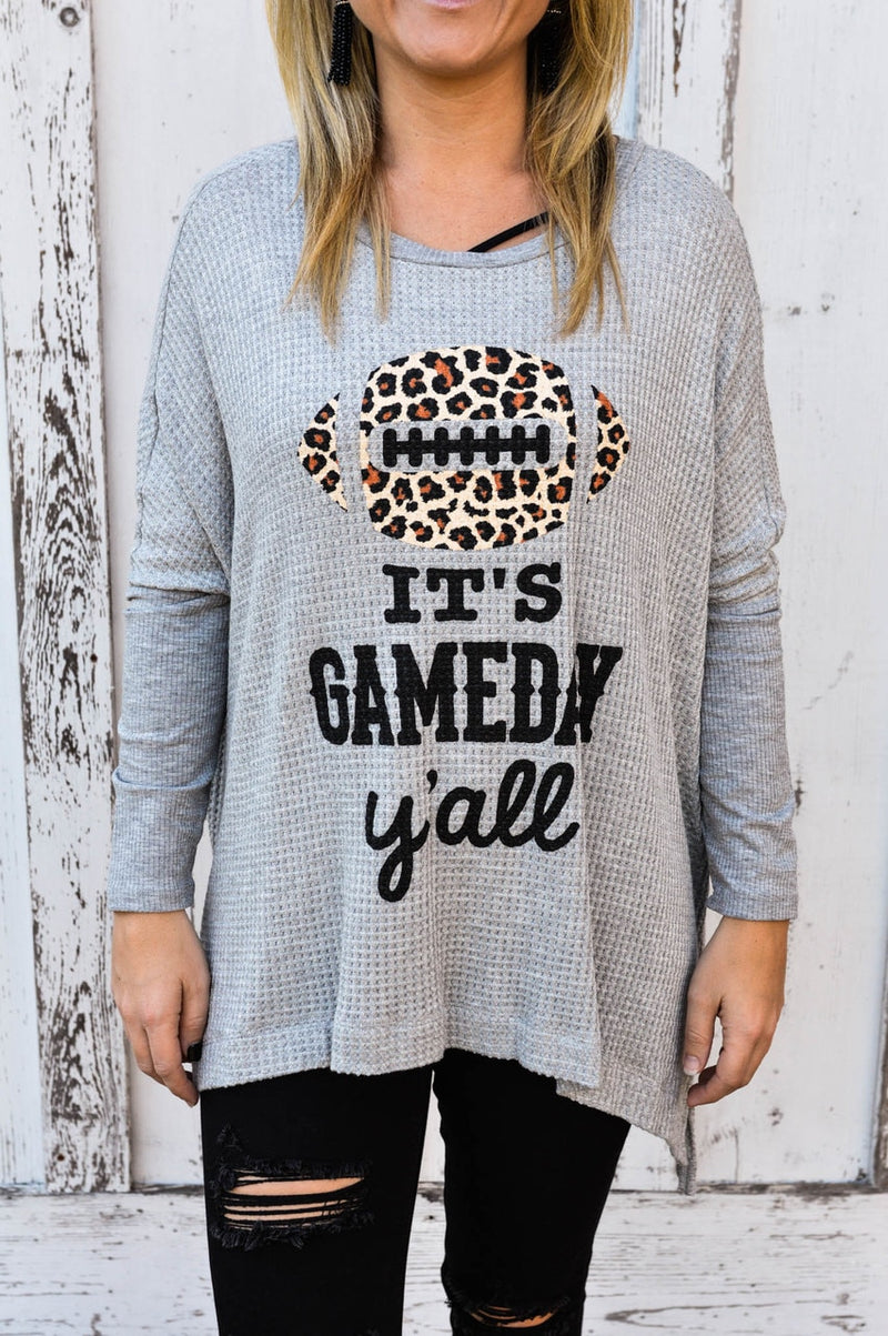 It's Gameday Leopard Sweater