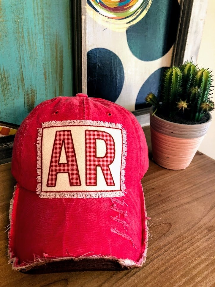 Coral Arkansas Cap - The Pink Buffalo,LLC