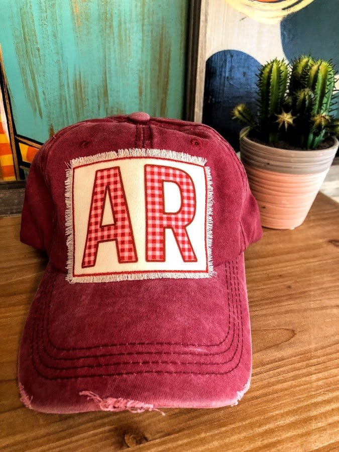Arkansas Patch Cap - The Pink Buffalo,LLC