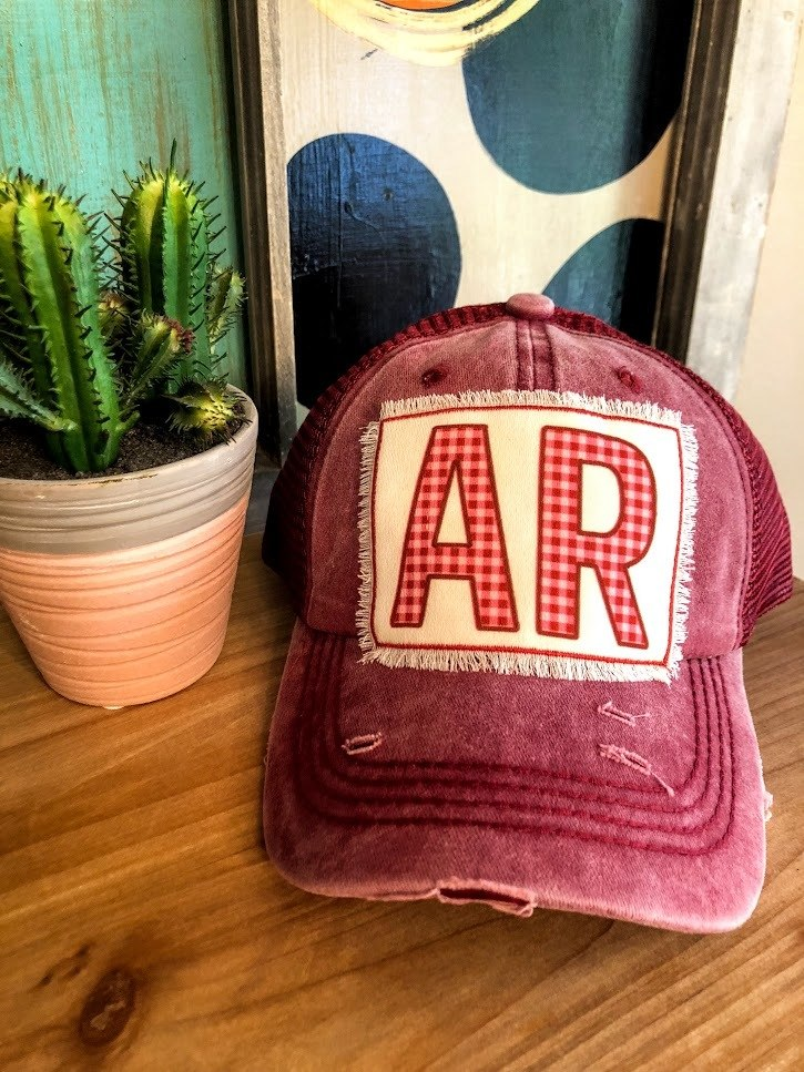 Arkansas Trucker Cap - The Pink Buffalo,LLC
