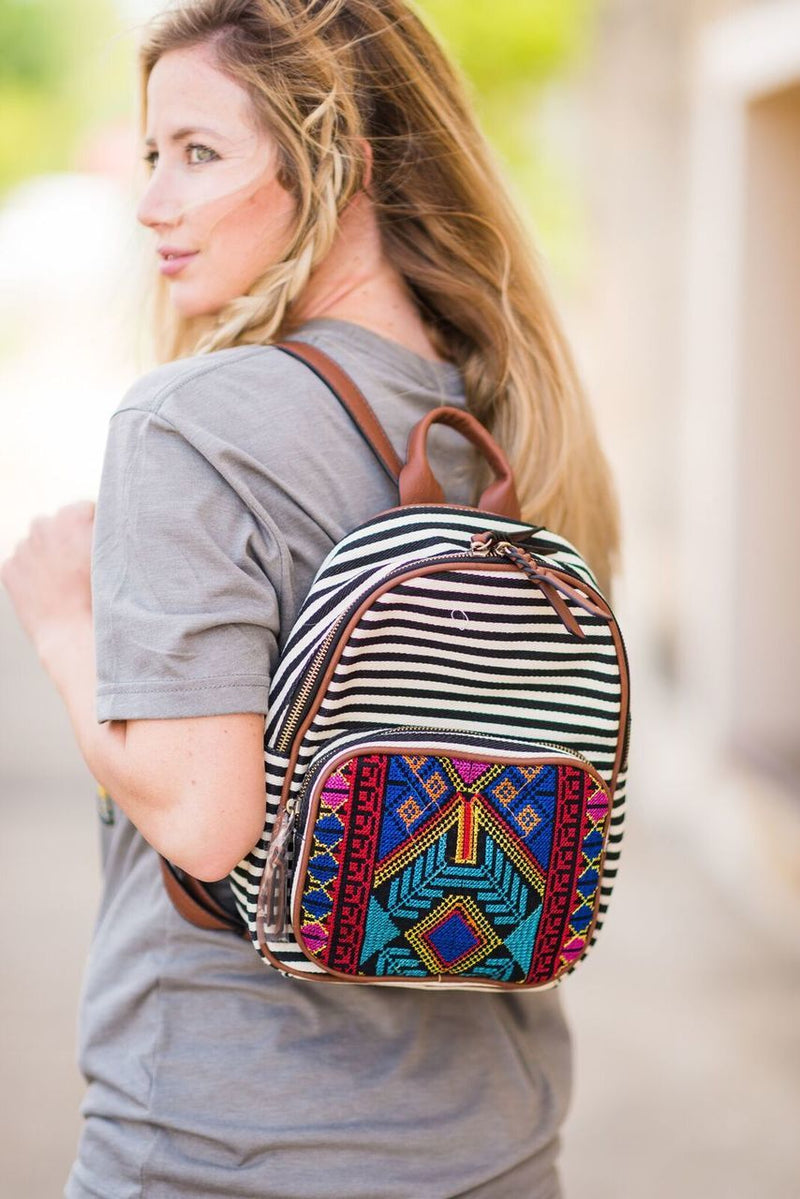 Aztec Backpack - The Pink Buffalo,LLC