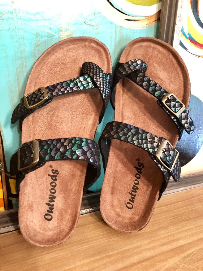 Birkenstock Sandals-Mermaid Black
