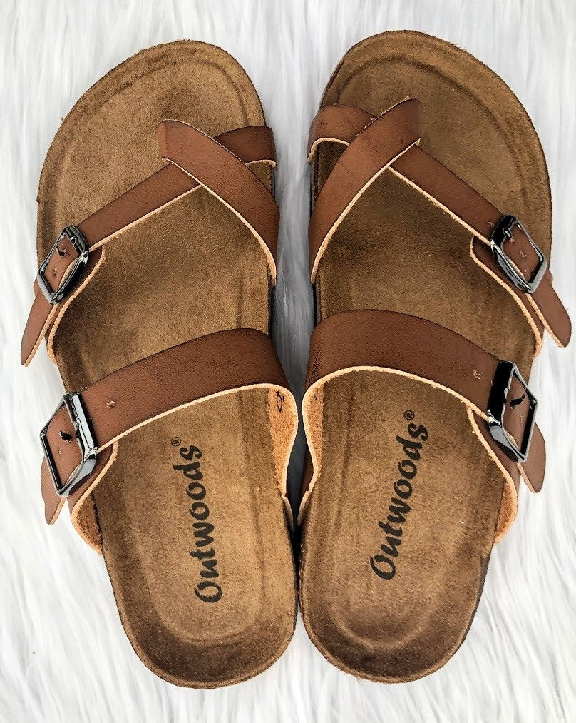 Brown Birkenstocks - The Pink Buffalo,LLC