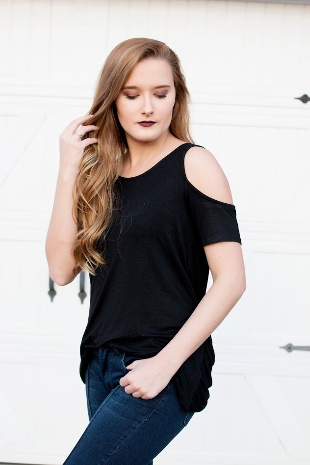 Black Criss-Cross Top - The Pink Buffalo,LLC