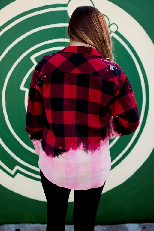 Red Bleached Flannels