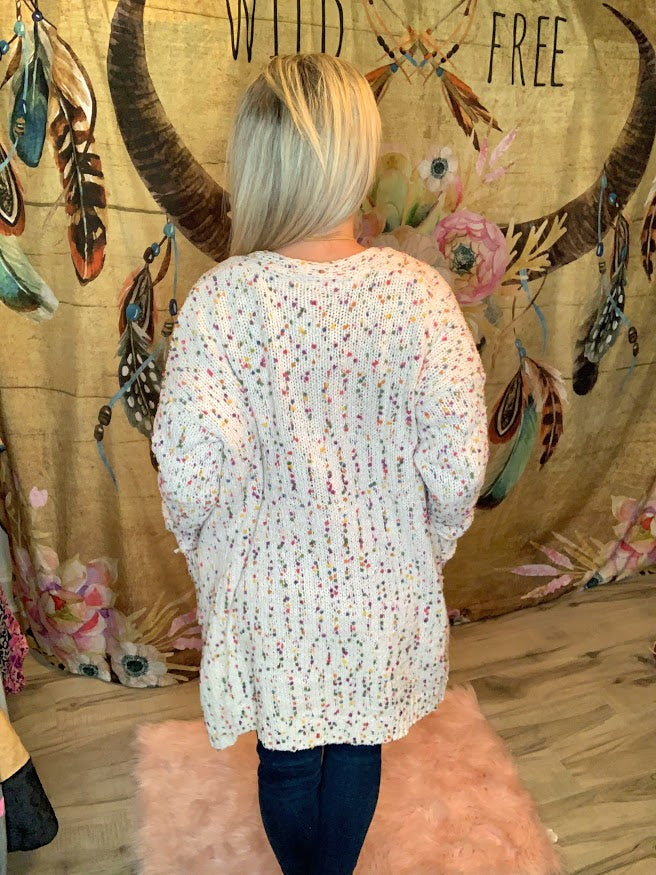 Confetti Pocket Cardigan
