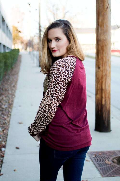 cfd4ab313078 Burgundy Sequin Leopard Top - The Pink Buffalo,LLC. Burgundy Sequin Leopard  Top - The Pink Buffalo,LLC. Burgundy Sequin Leopard Top - The Pink Buffalo  ...