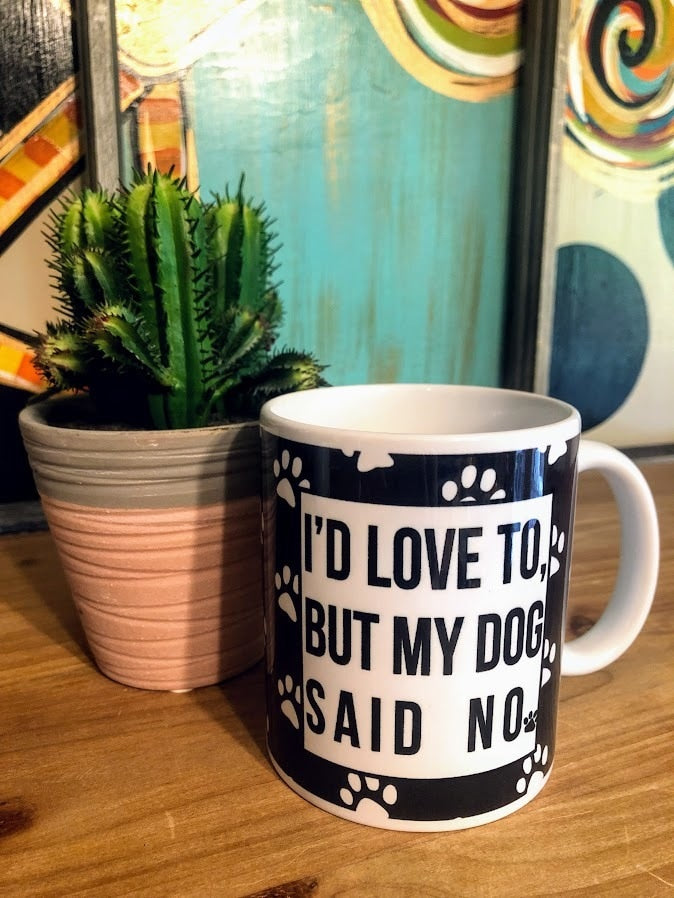 Dog Says No Mug