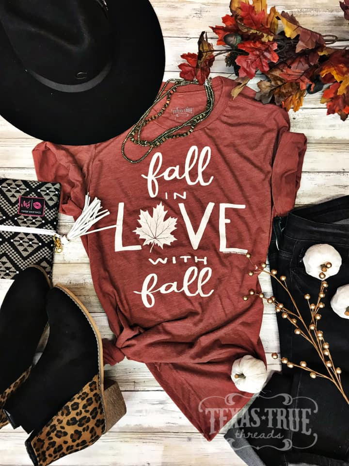 Falling in Love with Fall Tee
