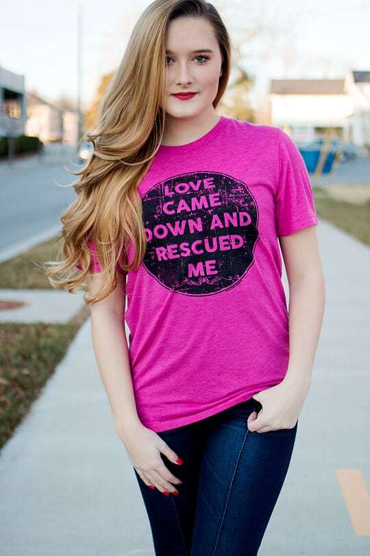 Love Came Down Tee