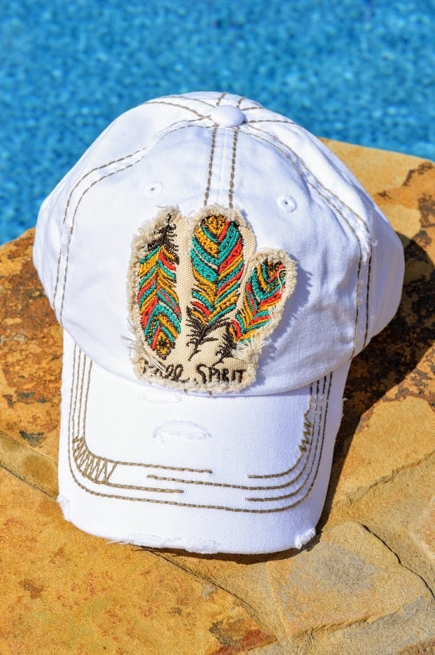 Free Spirit Hat (White)