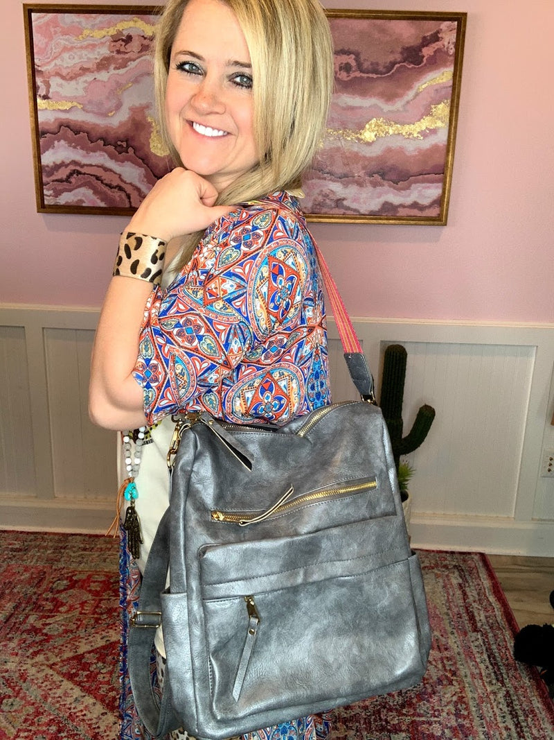 Convertible Bag-GRAY