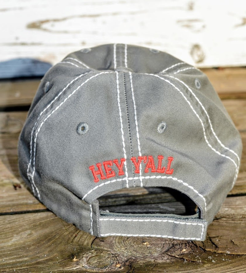 Hey Y'all Hat (Gray)