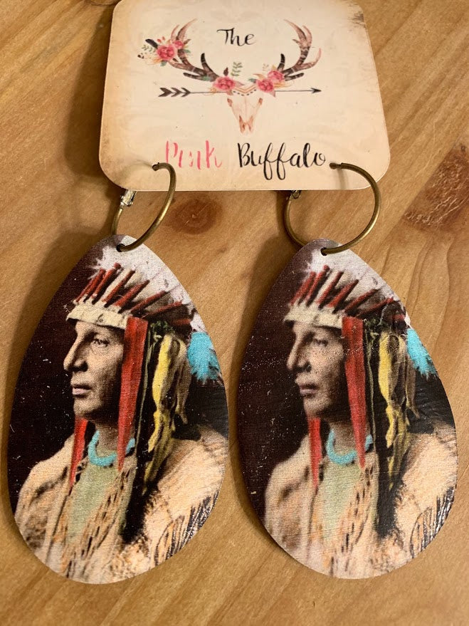 Indian Headdress Earrings