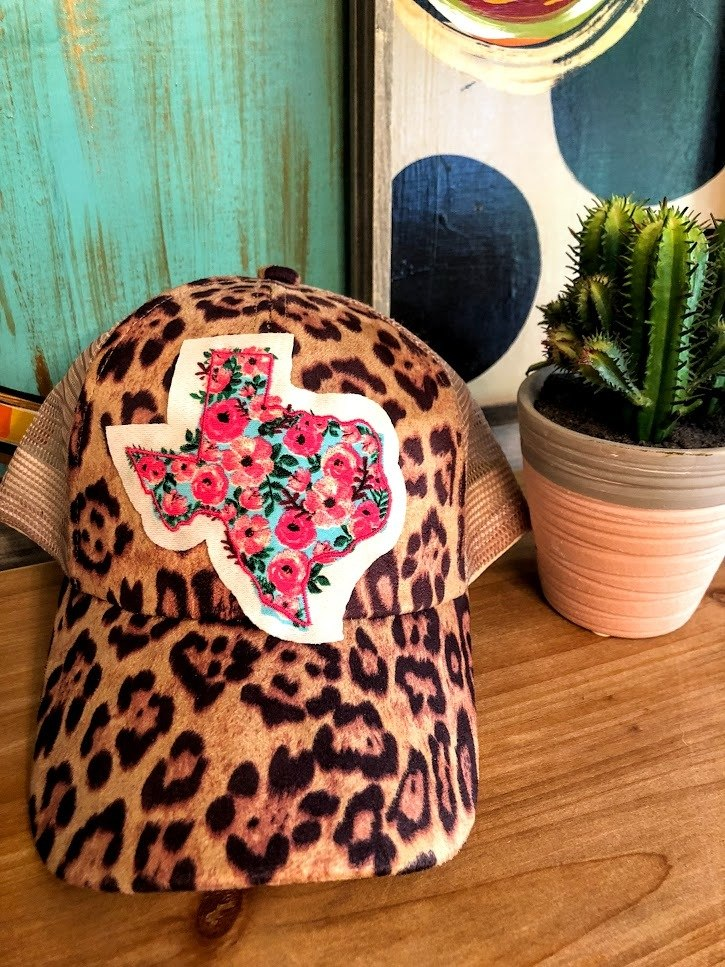 Texas Rose Patch Hat