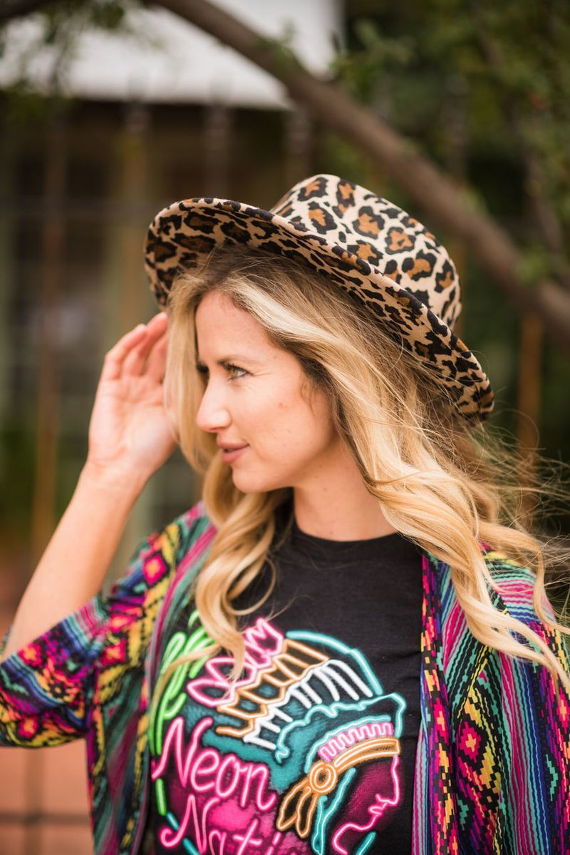 Leopard Wild Bill Hat