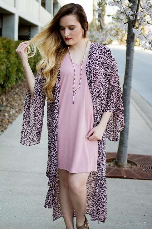 Mauve Pocket Dress