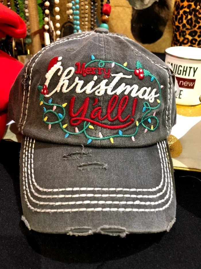 Merry Christmas Y'all Cap