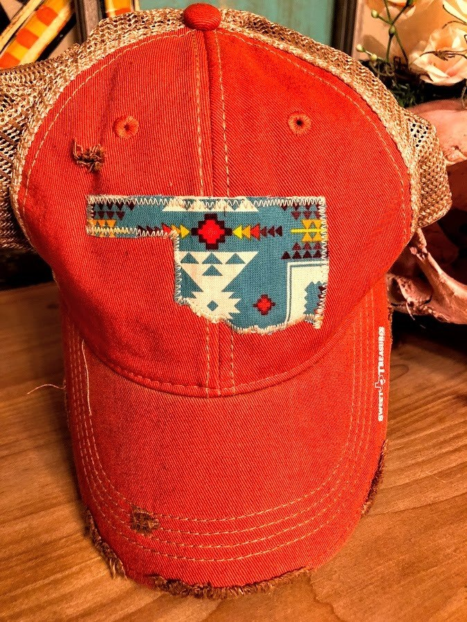 Aztec Oklahoma Cap - The Pink Buffalo,LLC
