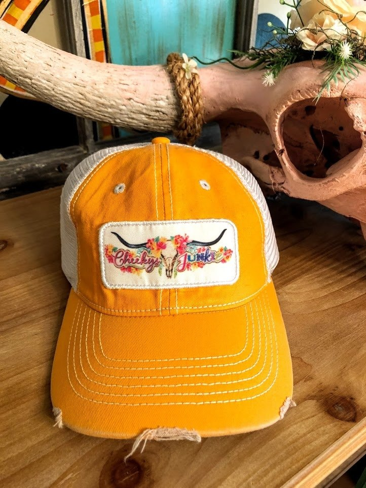 Cowksull Cap-Orange - The Pink Buffalo,LLC