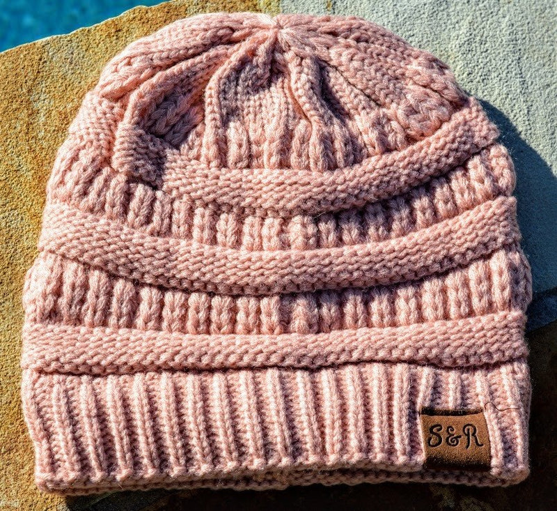 Rose Winter Beanie