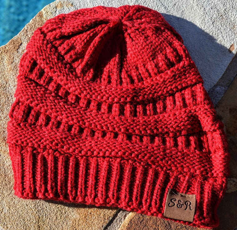 Red Winter Beanie