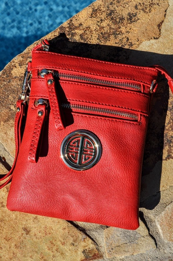 Red Crossbody