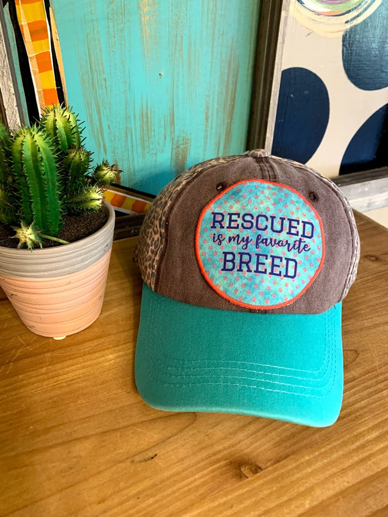 Rescue Dog Leopard Cap