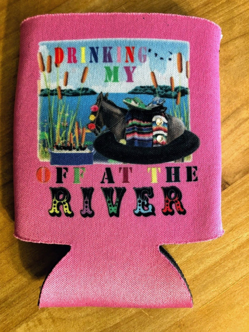 Drinking at the River Koozie