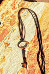 Rust Vintage Key Necklace