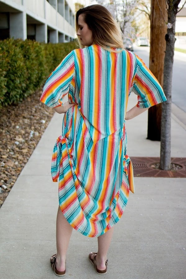 Serape Sunset Duster