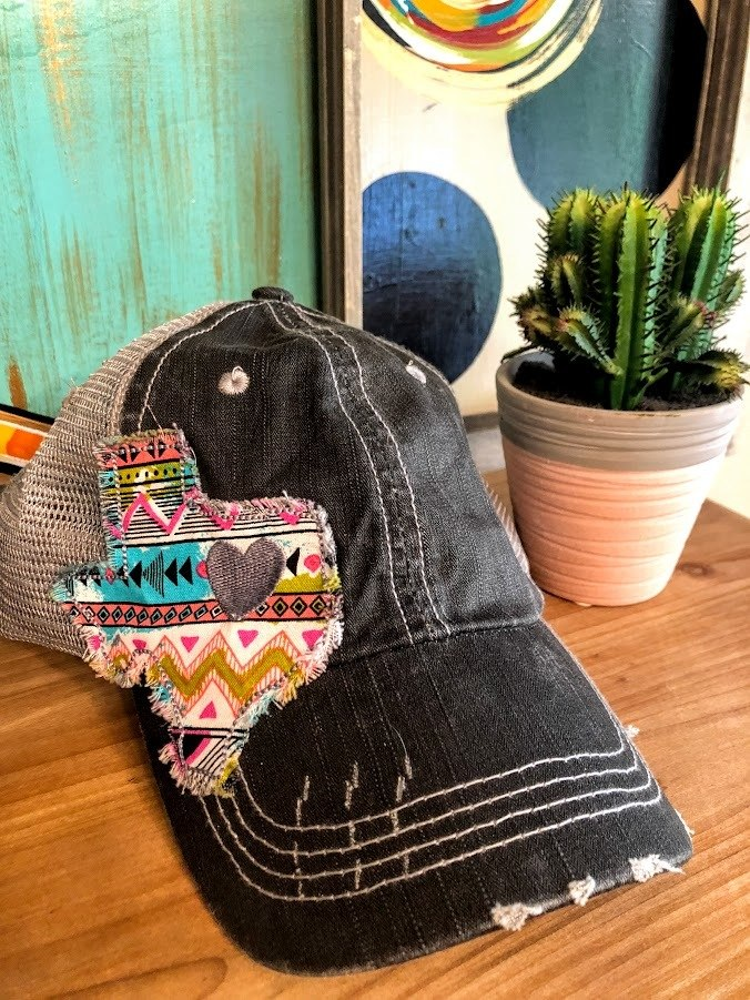 Texas Aztec Patch Hat