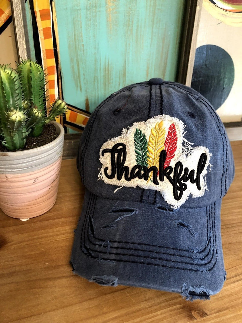 Thankful Cap-Navy