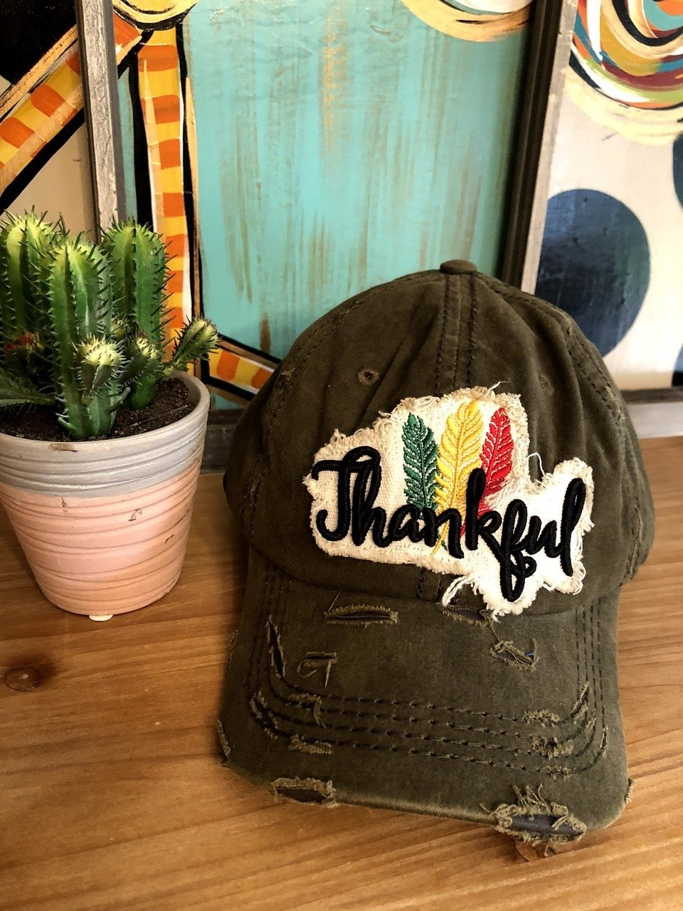 Thankful Cap-Olive