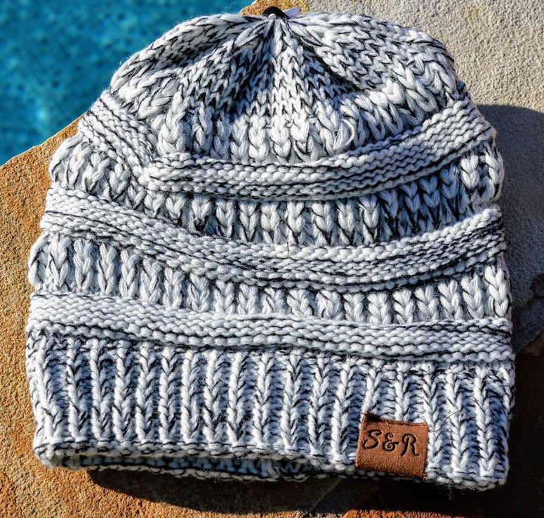 Salt & Pepper Winter Beanie