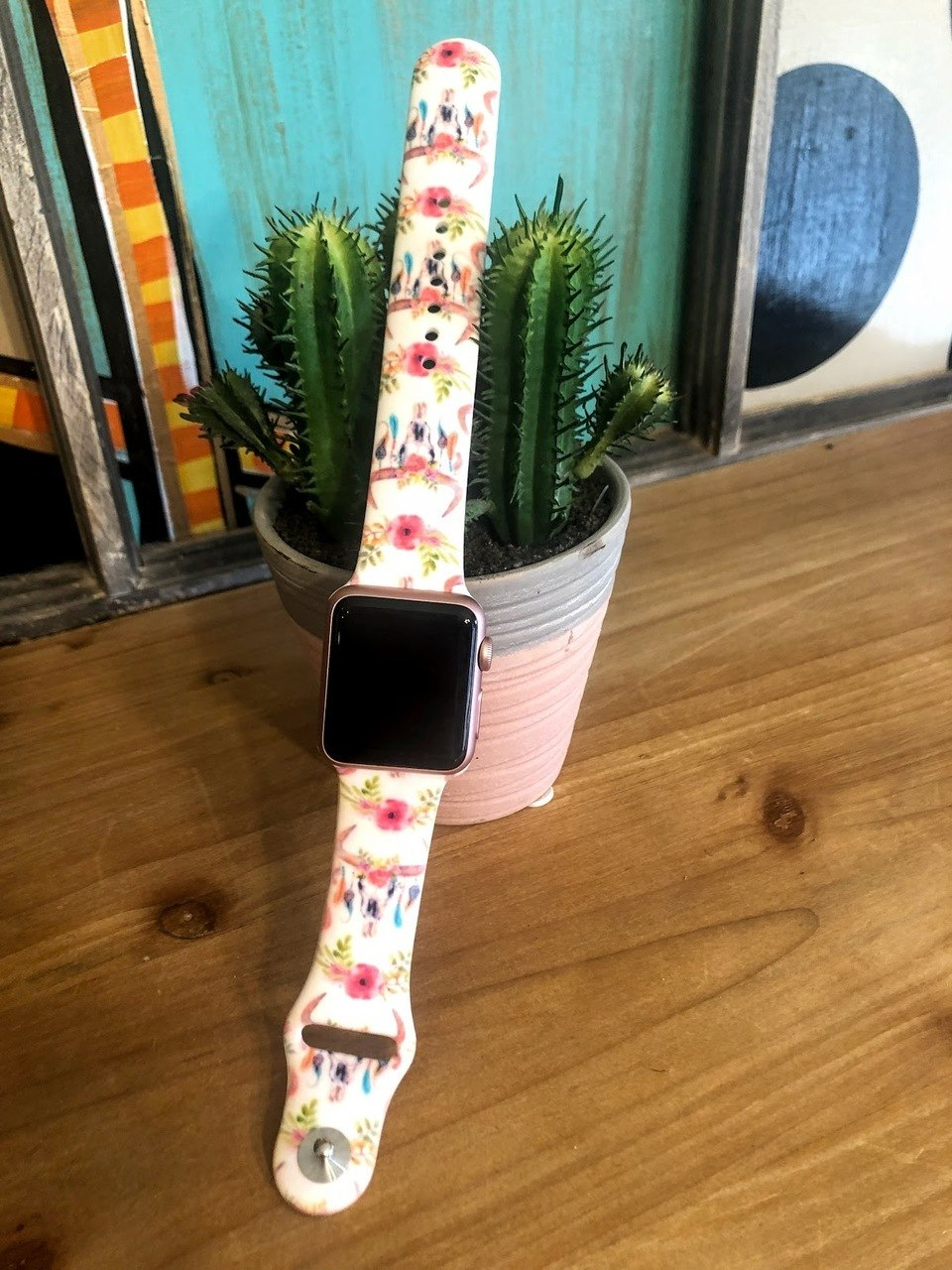 Cowskull Watch Band-38mm - The Pink Buffalo,LLC