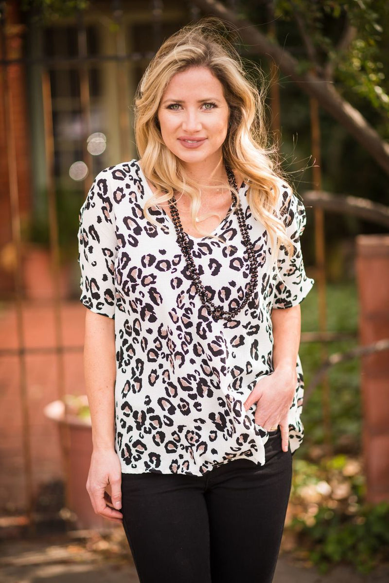 Lovely in Leopard Top