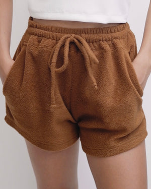 Teddy Fleece Shorts