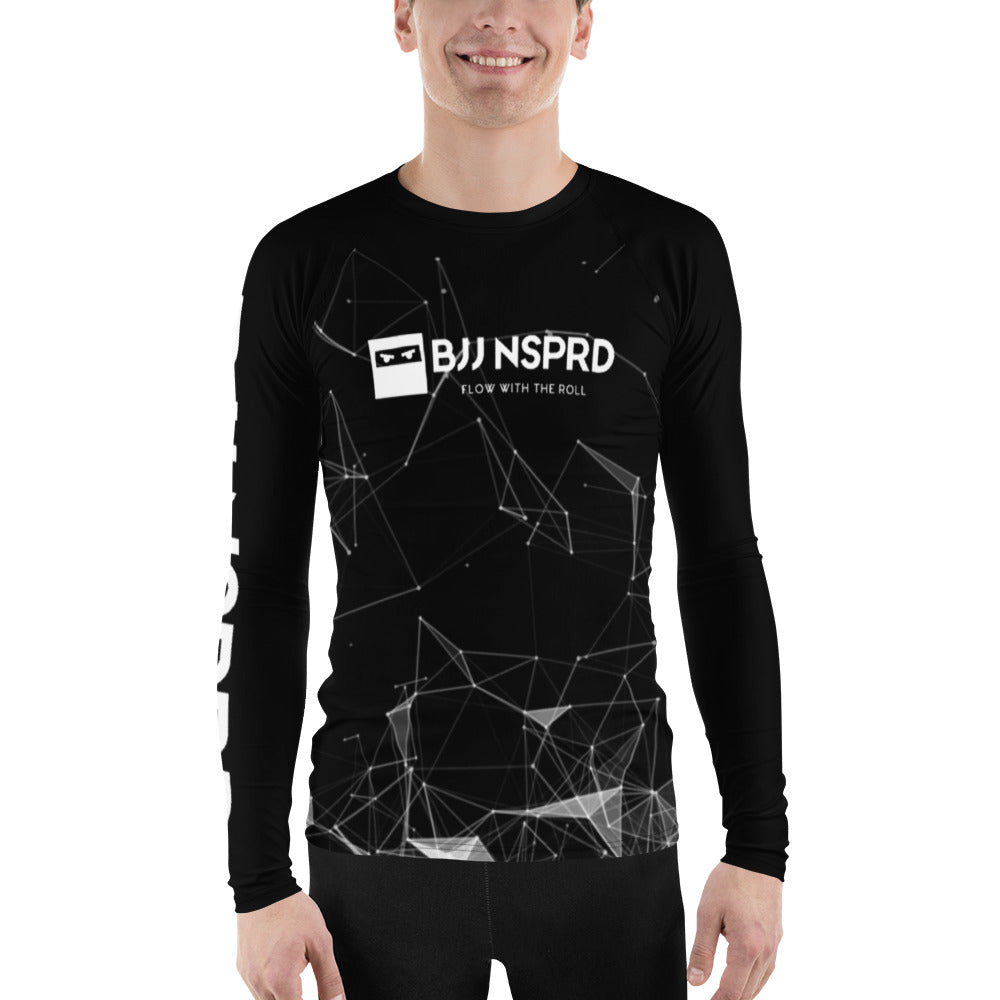 Dark Space Men's Rash Guard